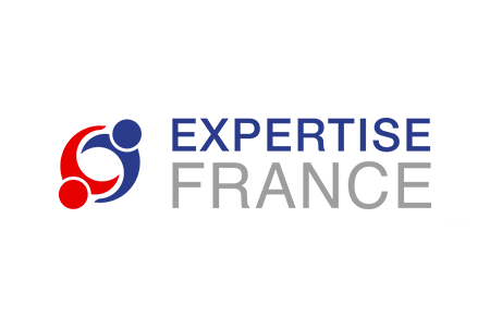 Logo Expertise France New