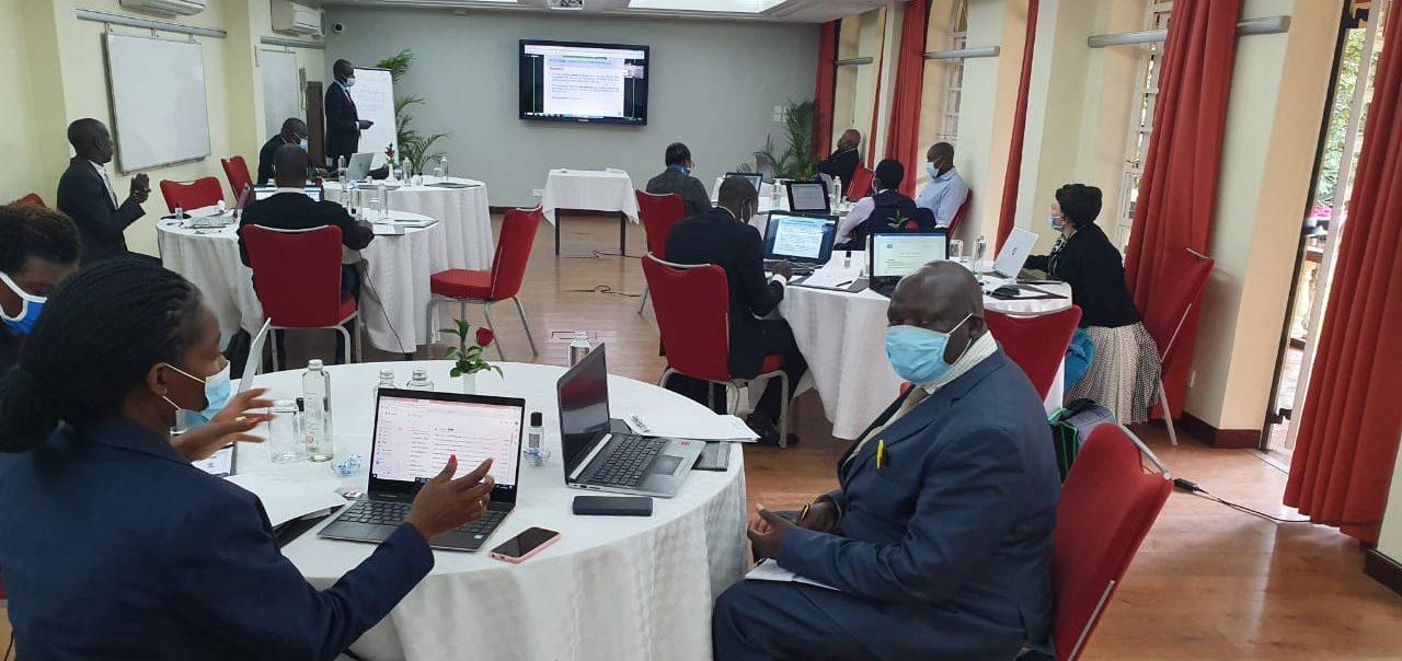 Participants of the webinar in Rwanda